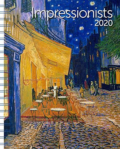 Impressionists Weekly Engagement Calendar 2020 Planner Personal Journal Organizer Scheduler 6.5