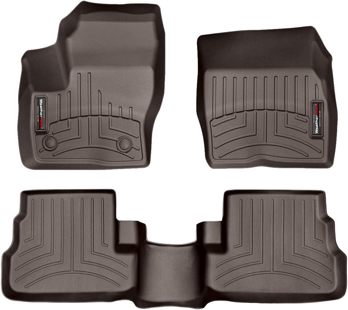 Weathertech Floorliner Mats For Silverado Sierra Crew Cab 3 Piece Set Cocoa Auto Parts And Vehicles Car Floor Carpet