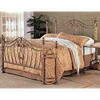 Eastern King Size Bed in Golden Finish by Coaster Furniture
