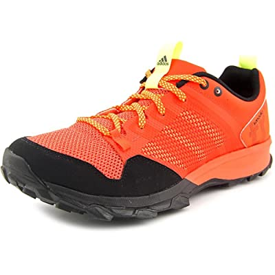 Adidas Kanadia 7 TR Men US 9 Orange Trail Running UK 8.5