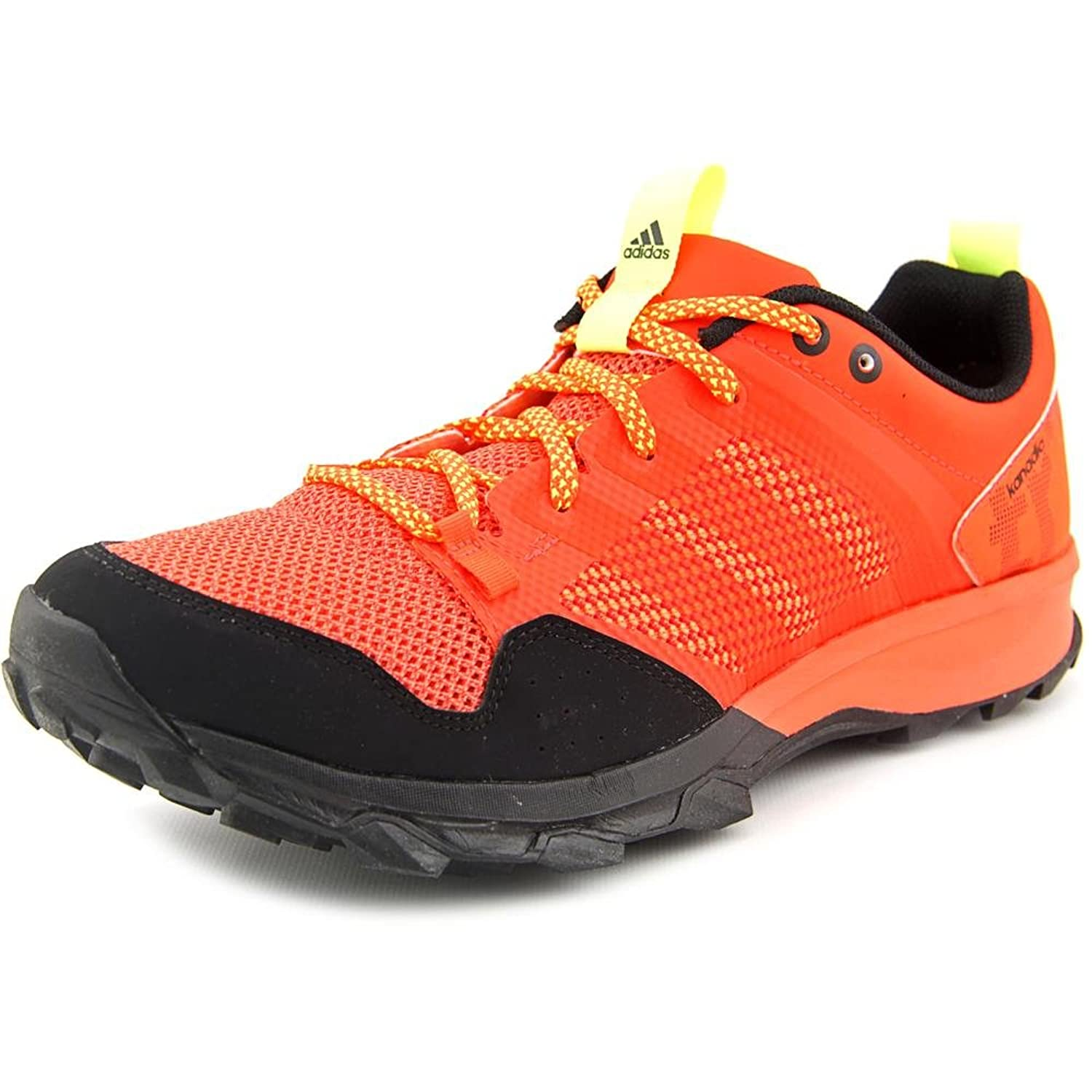 Adidas Kanadia 7 TR Men US 9 Orange Trail Running UK 8.5