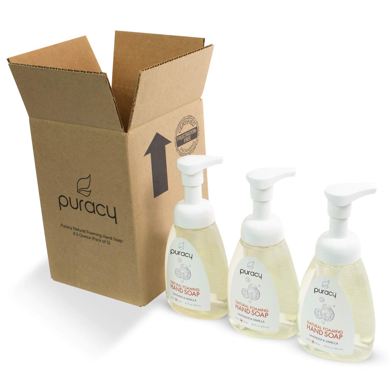 Organic Bath Co Lavender Vanilla Foaming Hand Soap 5oz Superior Materials Health & Beauty