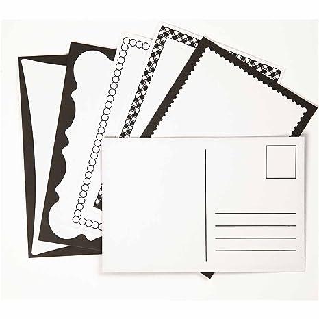 Amazon.com: Postal, tamaño 3.9 x 5.9 inch, color blanco roto ...