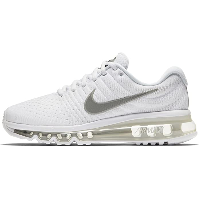 quality design 8ca5b 23689 Amazon.com   Nike - Air Max 2017 GS Black White - 851622100 - Color  White  - Size  4.5   Sneakers