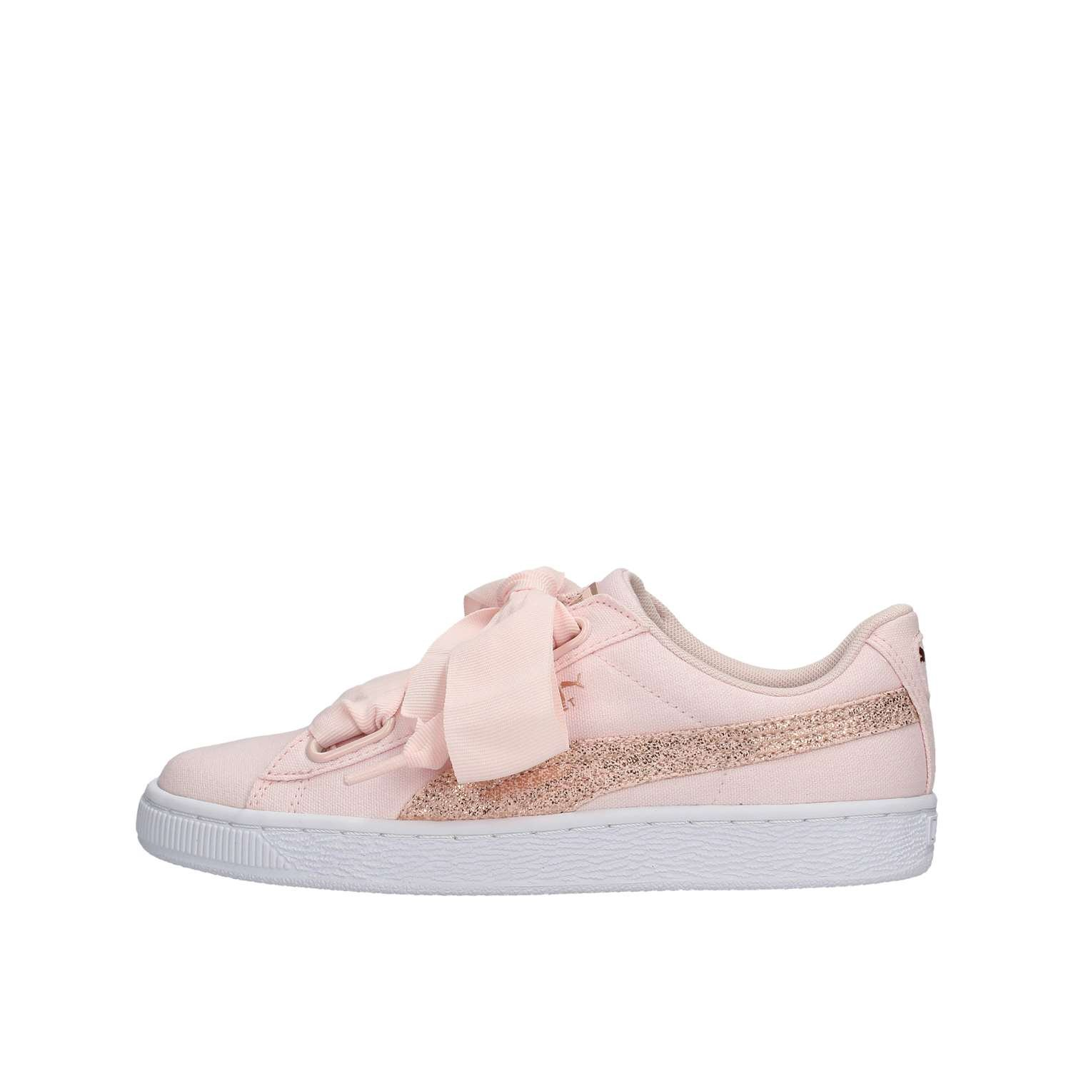 Basket Heart Canvas Wn's Pearl-Puma White-Rose Gold 2018 Puma 36 EU|Rosa