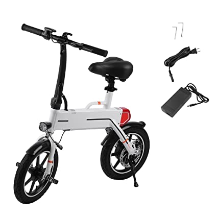Amazon.com: Simoner Mini Bicicleta Eléctrica Plegable/E-Bike ...
