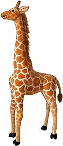 "Adventure Planet Standing Stuffed Giraffe ~ 30.5"" Tall Toy Giraffe ~Soft Cozy Plush ~ Movable Neck"