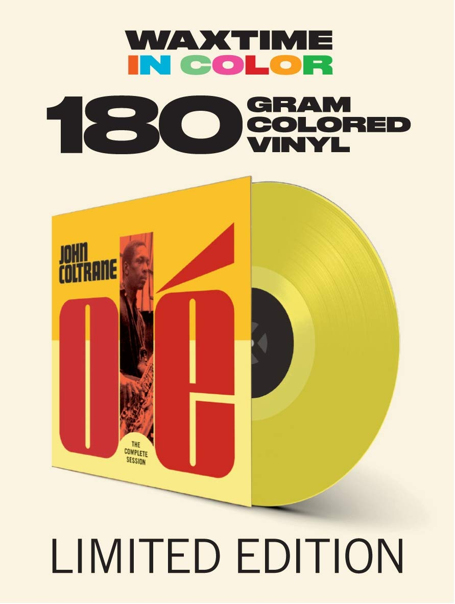 Vinilo : John Coltrane - Ole Coltrane: The Complete Session (180 Gram Vinyl, Colored Vinyl, Yellow, Spain - Import)