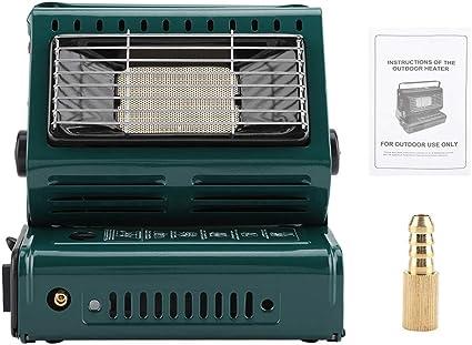 Appareil de Chauffage pour Barbecue Jacksking R/échauffeur de gaz Portable r/échaud /à gaz dext/érieur Barbecue Portable R/échauds de Camping pour Barbecue