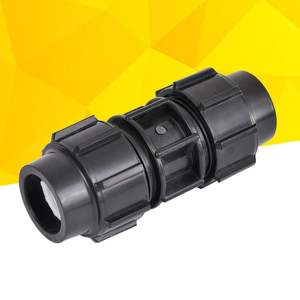 Noir /1//2-Inch /1//4-Inch ou 1/ ukcoco Valve de reflux de leau universel anti-retour de 40/cm avec connecteurs adaptateurs filetage femelle 1/