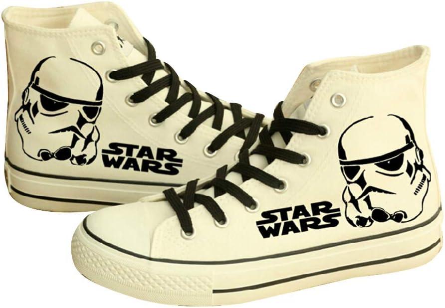 Telacos Star Wars - Zapatos de lona Darth Vader Anakin Skywalker