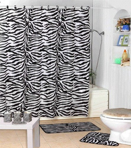 Famous Roman Bath Store Toronto Thick Bath Vanities New Jersey Rectangular Small Country Bathroom Vanities Bathroom Water Closet Design Old Majestic Kitchen And Bath Nj Reviews GrayFrench Bathroom Wall Sign Amazon.com: 17 Piece Bath Accessory Set  Black Zebra Shower ..