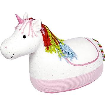 Unicornio Suave Cojín de Peluche Asiento Sillón 30 cm ...