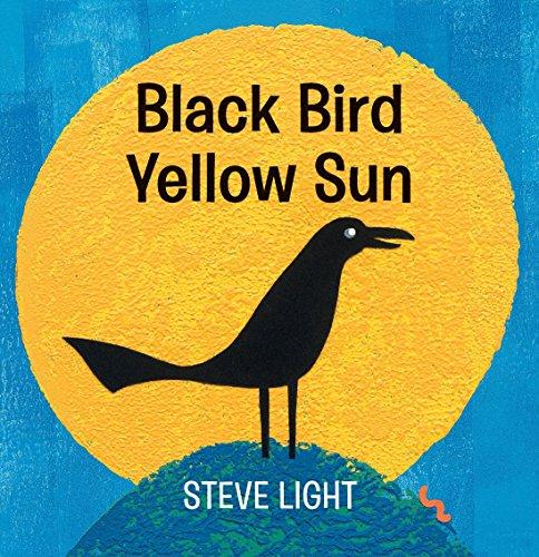 Image of Black Bird Yellow Sun