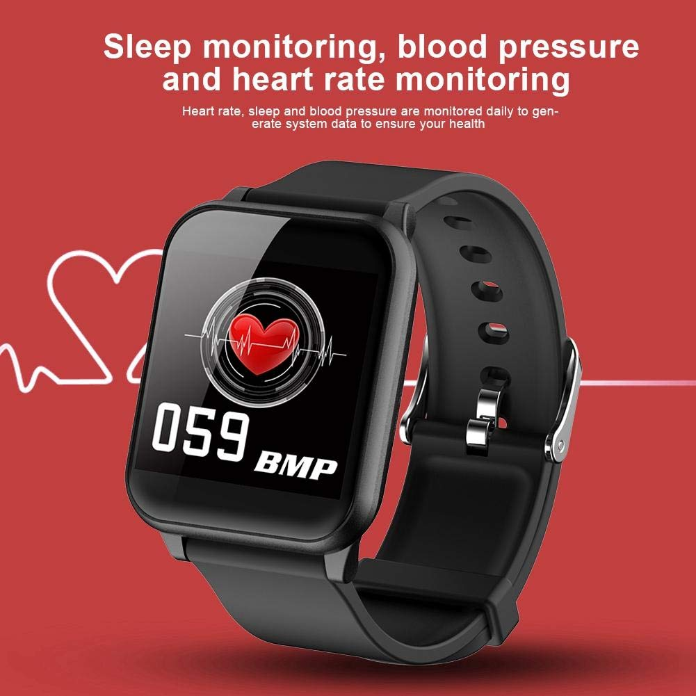 Amazon.com: ASHATA Smartwatch Bluetooth 1.3 Pulgadas IPS ...