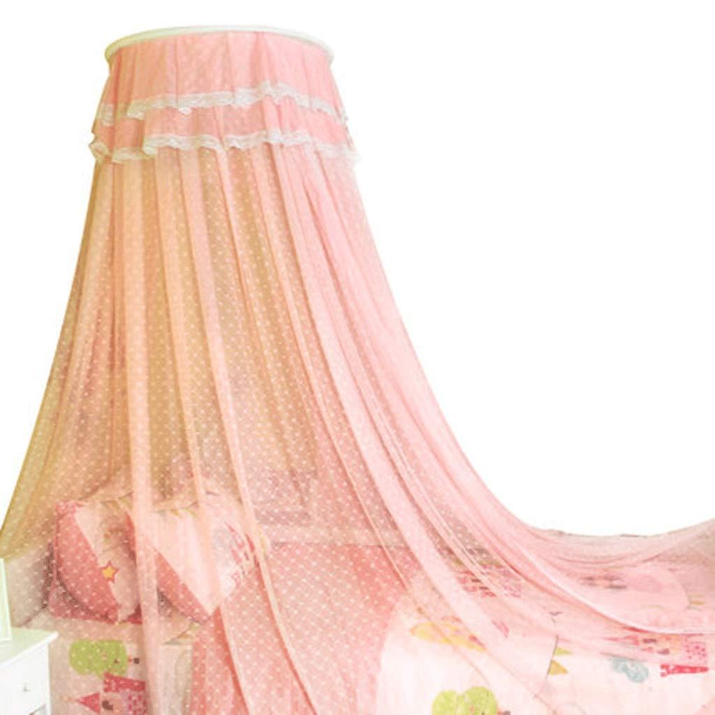 ダストトップ蚊帳ジッパードロップ子供1.5 / 1.8メートルベッド2メートル家庭用蚊帳暗号化肥厚王女の風 (色 : ピンク, サイズ さいず : 1.2m bed) B07SCRT8BY ピンク 1.2m bed