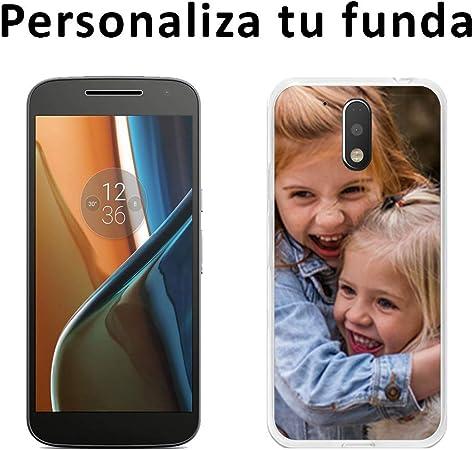 Funda Carcasa Gel Personalizada para Motorola Moto G4/G4 Plus con ...