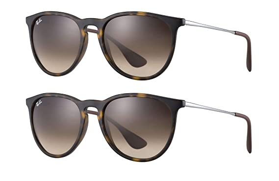 a0c5b5fe94b8d2 Image Unavailable. Image not available for. Color  Ray-Ban Erika RB4171 865  13 54mm Sunglasses ...