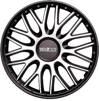 Sparco SPC1594BKRD Copriruota Veneto 15
