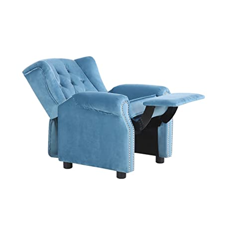 Groovy Lch Ergonomic Baby Tufted Recliner Chair Soft For Living Room Bedroom Wingback Comfortable Reclining Lounge Chairs Sofa Armchair For Kids Child Home Short Links Chair Design For Home Short Linksinfo