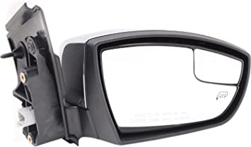Mirror For 2013-2016 Ford Escape Right Heated Paintable With Memory Manual Fold