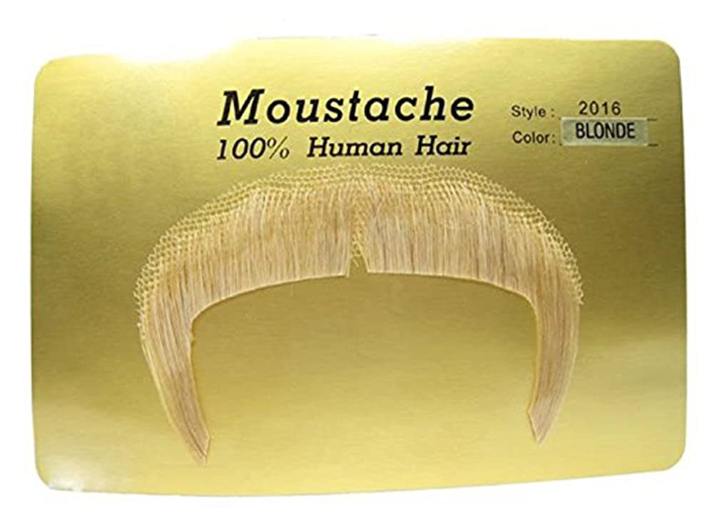 2016 (Blonde) Zapata Human Hair Mustache