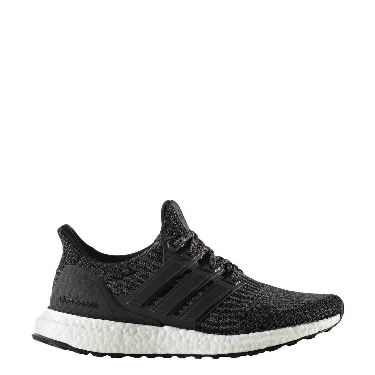 adidas Ultraboost 3.0 Shoe - Junior's Running 5.5 Core Black/Utility Black