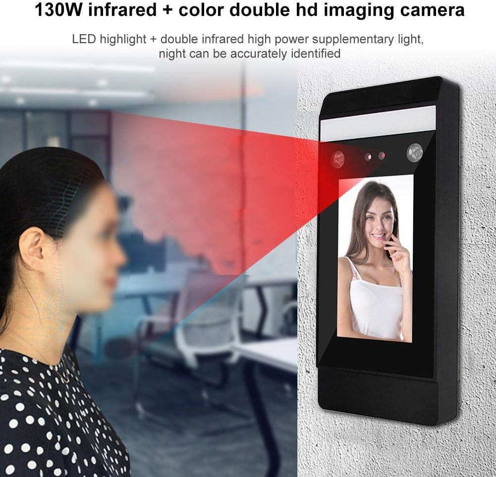DT-10 Dynamic Dual HD Passwort zur Gesichtserkennung Intelligentes Zutrittskontrollsystem Gesichtserkennung Zeiterfassungsger/ät