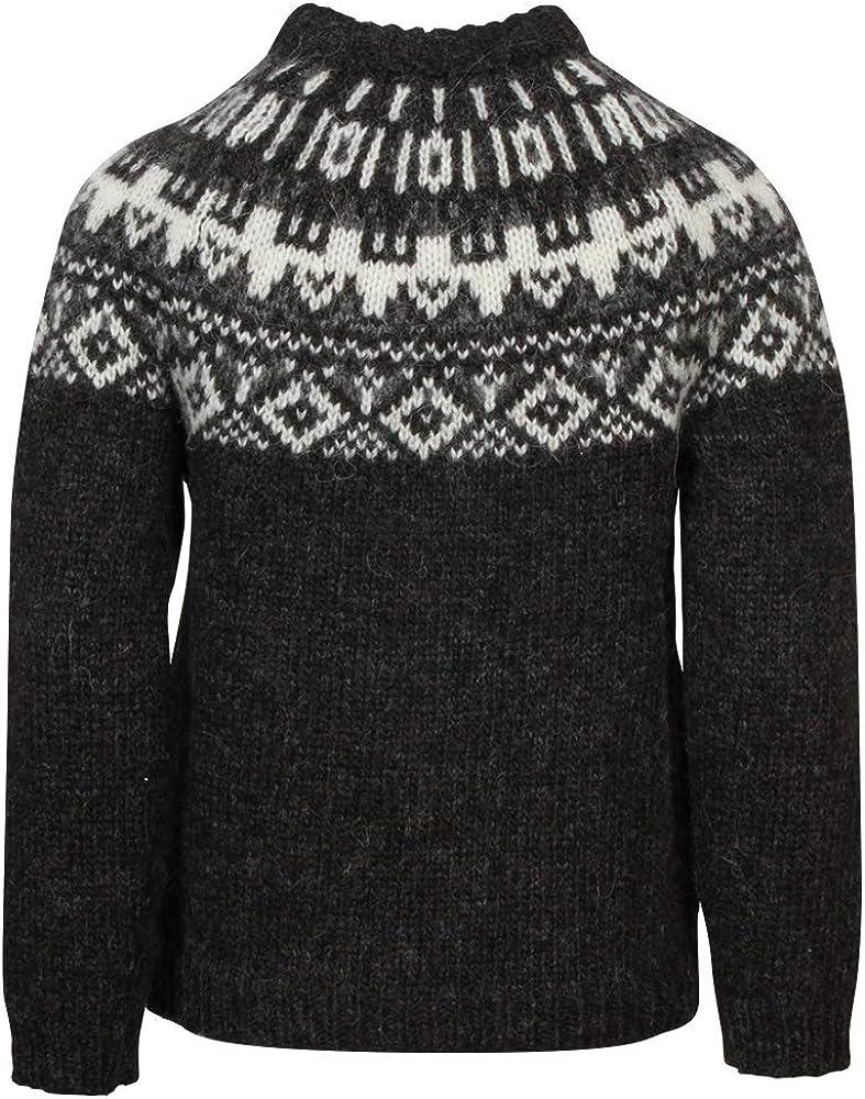 ICEWEAR Elmar Kids Sweater Lopapeysa Design 100/% Icelandic Wool Long Sleeve Crew Neck Winters Sweater