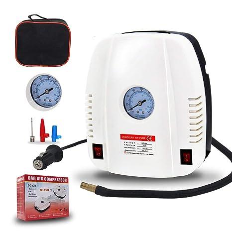 Neumático del auto portable eléctrico del compresor de aire de la bomba del coche eléctrico del