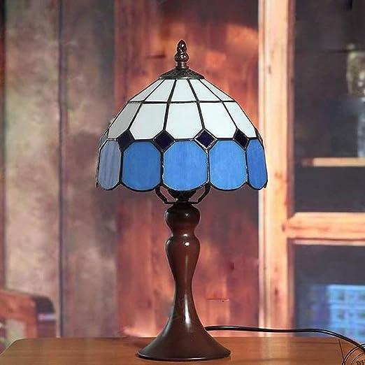 PoJu Nuevas lámparas Tiffany Positive Brand Dormitorio Minimalista ...