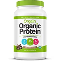 Orgain Organic Plant Based Protein Powder Creamy Chocolate 2.03 lb