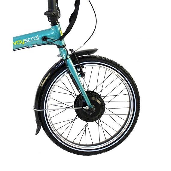 Wayscral Flexy 215 - Bicicleta eléctrica (36 V), color verde, tamaño 6.6 Ah: Amazon.es: Deportes y aire libre