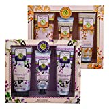 2 Pack Orchard & Vine 3pc Therapy Bath Gift Sets Honey Almond Black Currant Vanilla Review