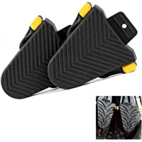 KOBWA Cleat Covers, 1 Pair Cycling Shoes Spd Cleat Covers for Shimano SPD-SL Cleats Pedal Rubber Covers