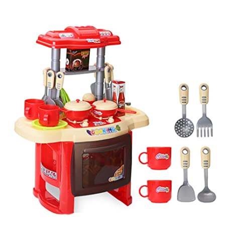 AZ Trading & Import PS28 Hot Dog Roller Grill Electric Stove Kitchen Appliance Pretend Food Playset