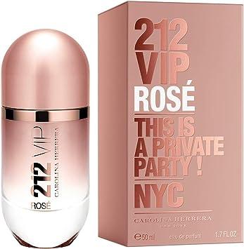 Carolina Herrera 212 Vip Rosé Agua de Perfume Vaporizador - 50 ml: Amazon.es: Belleza