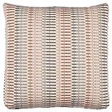 Stone & Beam Transitional Geometric Weave Pillow, 19'', Blush