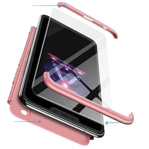 cmdkd Huawei Honor 8X Funda, Bumper 3 en 1 Estructura 360 Grados ...