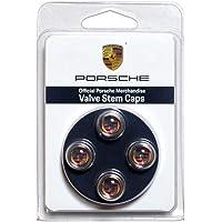 Color Valve stem Cap Set of Four Porsche PNA70500200