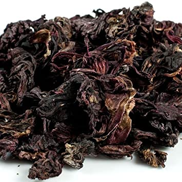 Amazoncom Hibiscus Flowers Dried 1 Resealable Bag 4 Oz