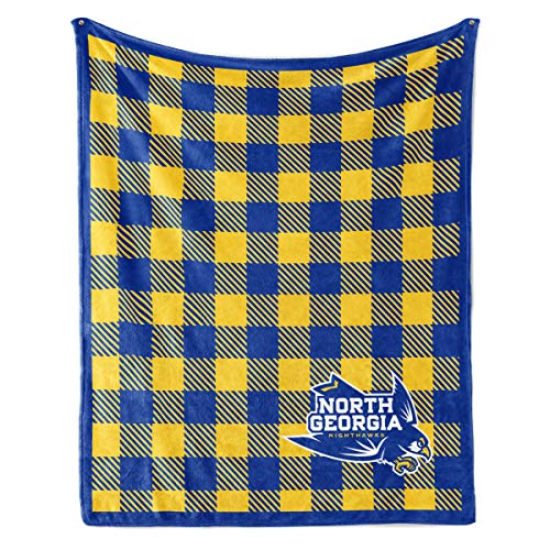 Official NCAA North Georgia Nighthawks - Light Weight Fleece Blanket - 50x60
