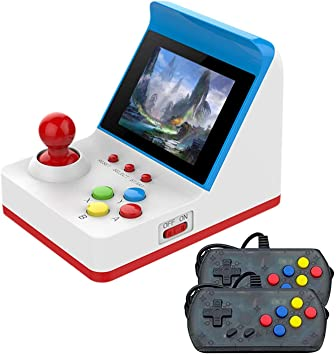 Amazon.es: Anbernic Consolas de Juegos Portátil, Consolas de Juegos de Mano Arcade FC Handheld Game Console 3 Pulgadas 360 Classic Game Console, TV-Output Videojuegos Portátil with 2PCS Joystick – Azul