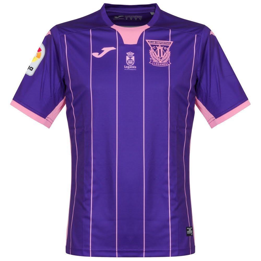 Joma CD Leganés Segunda Equipación 2017-2018, Camiseta, Morado-Rosa: Amazon.es: Deportes y aire libre
