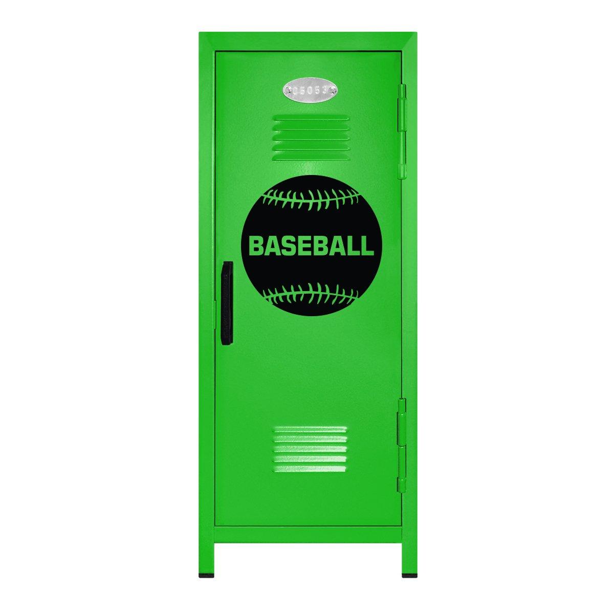 Baseball Player Miniロッカーギフト  ライム/ブラック B01NBK85NG