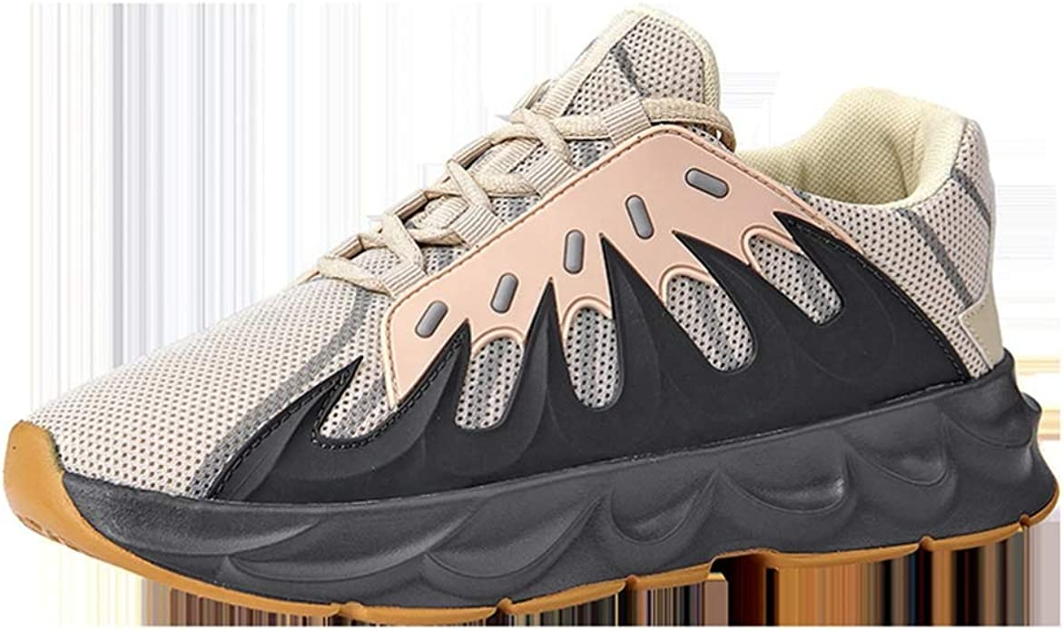 Hombres Zapatos Casuales Fitness Deportes Running Zapatillas de Deporte Verano Zapatillas de Deporte Transpirables de Plataforma Baja: Amazon.es: Zapatos y complementos