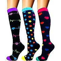 Diu Life Calcetines de compresión para Mujeres y Hombres 20-25 mmHg: los Mejores Calcetines médicos, para Correr…