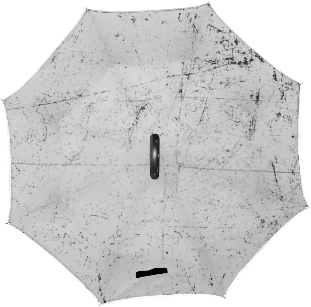 Double Layer Inverted Inverted Umbrella Is Light And Sturdy Grunge Urban Background Vectordust Overlay Distress Reverse Umbrella And Windproof Umbrel