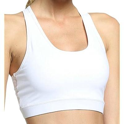 67548de1a8b6f ainr Women Bras Back Pocket Mobile Phone Yoga Slim Fit Shockproof Sports Bra  Female