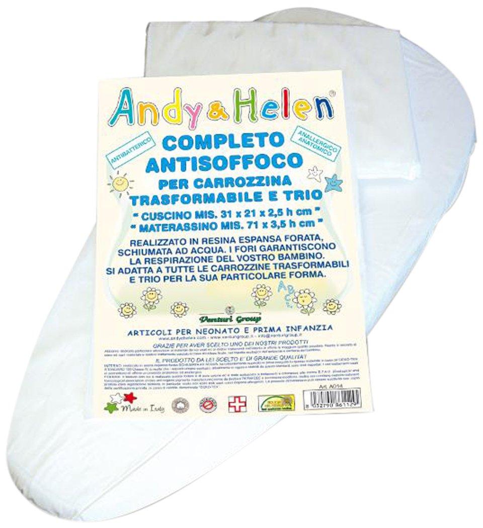 Andy & Helen A014 Completo Antisoffoco per Carrozzina e Trio